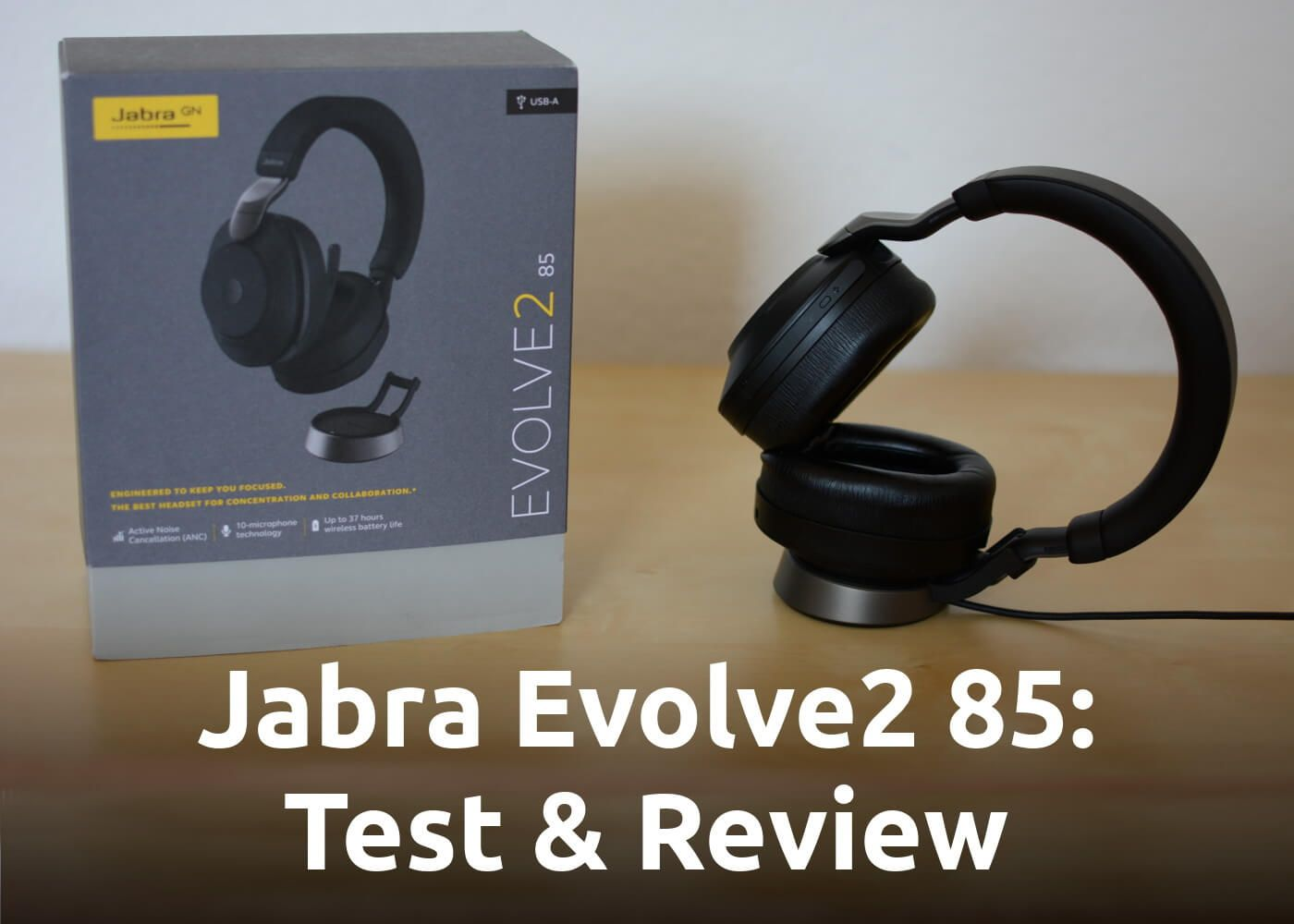 Jabra Evolve2 85: Test, Review & Hands-on the Bluetooth Headset