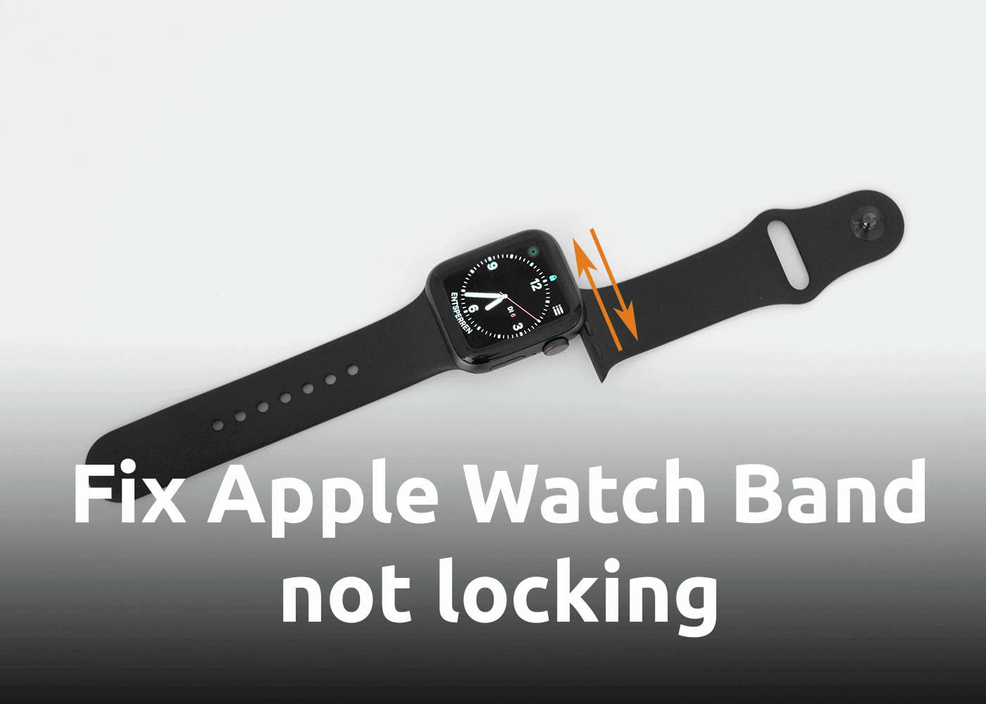 [How-to] Fix Apple Watch Band not Locking into Place (no click)