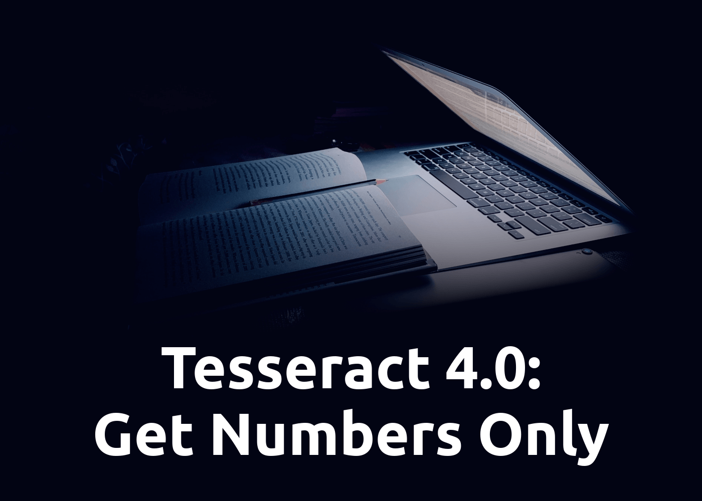 Python Tesseract 4.0 OCR: Recognize only Numbers / Digits and exclude all other Characters