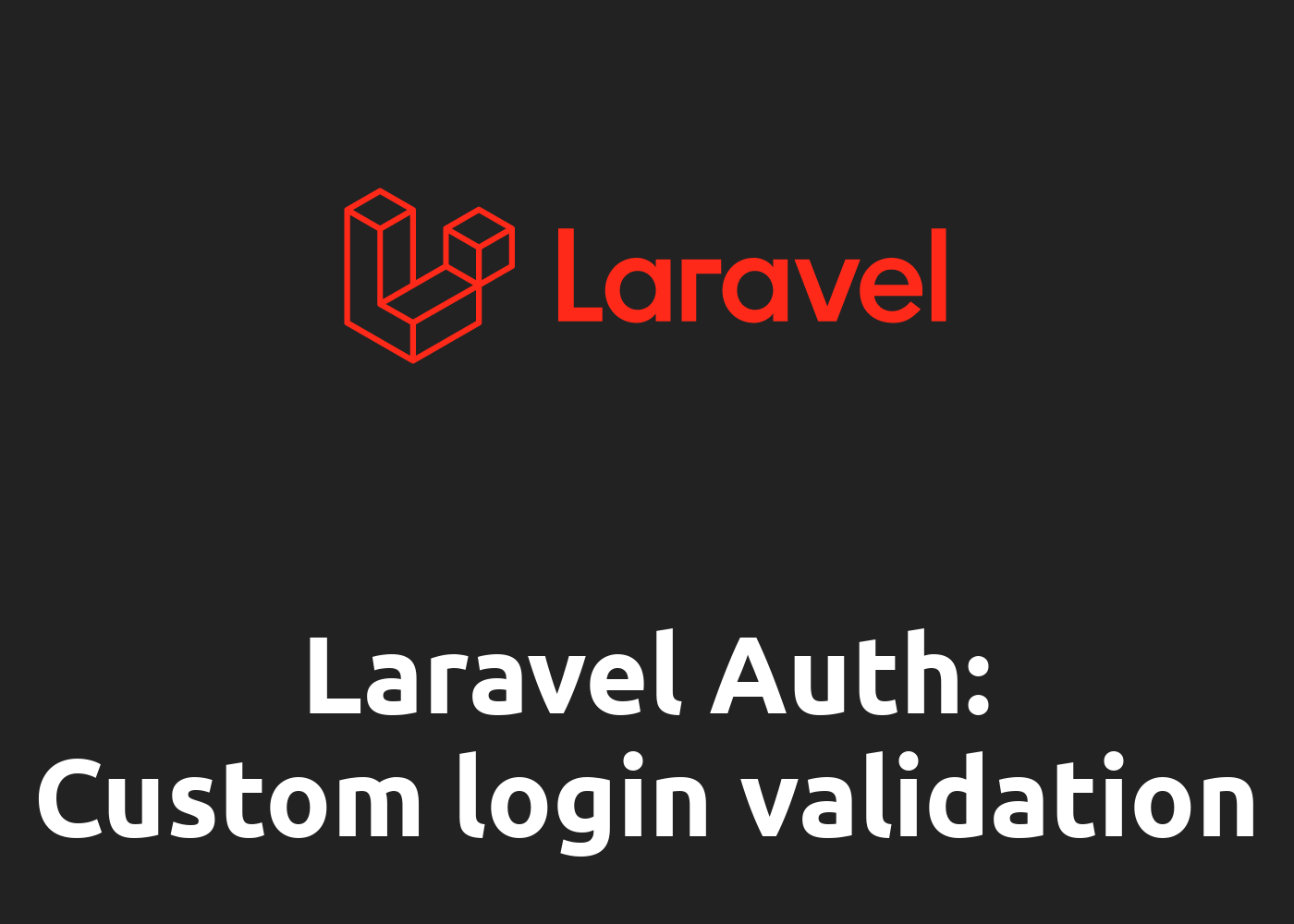 Laravel 7: How to override validateCredentials for custom  Login Validation
