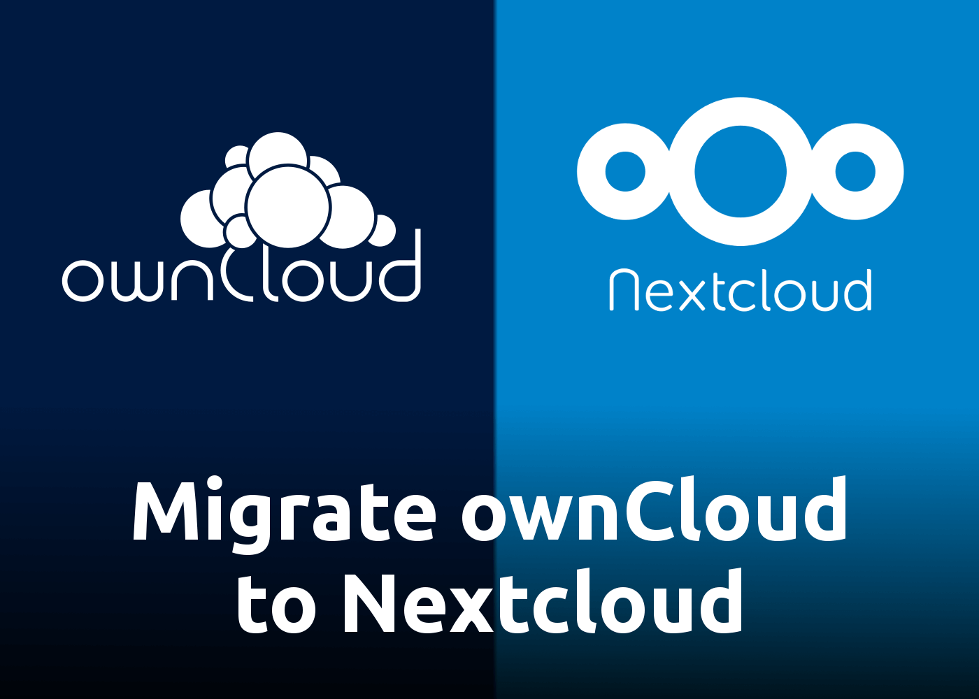 [How-to] Migrate ownCloud 10.5.0 to Nextcloud